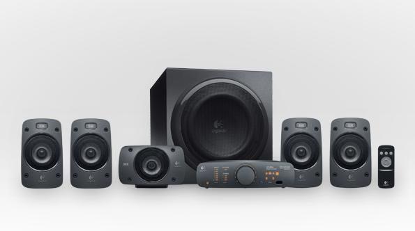羅技Logitech Z906 Digital劇院喇叭 Dolby DTS 光纖 THX 超重低音