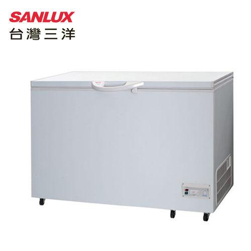 SANLUX 台灣三洋 SCF-415/ SCF-415T 冷凍櫃 414L 使用環保冷媒 掀蓋式美背設計