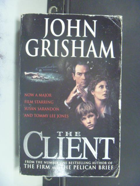 【書寶二手書T3/原文小說_NSN】The Client_Grisham, John