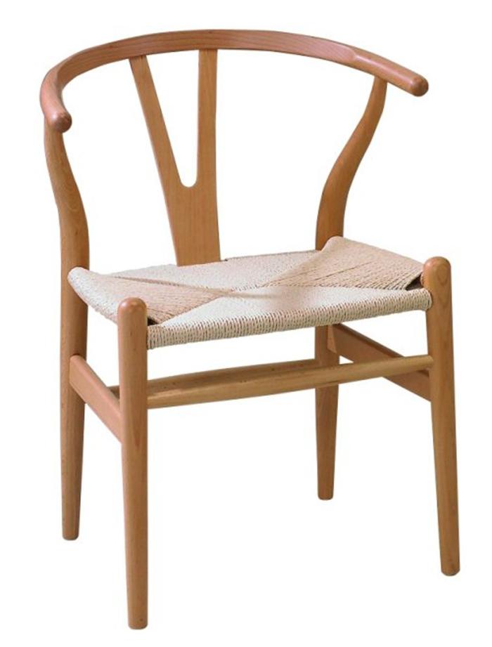 【尚品傢俱】491-02 亞良原木色Y-chair(可改色)庭院休閒椅/下午茶椅/Coffee Chair