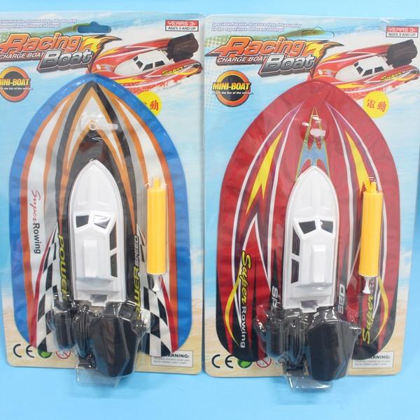 電動充氣船 玩具快艇 充氣快艇 充氣小船 NO.US382(附電池)/一個入{促180}
