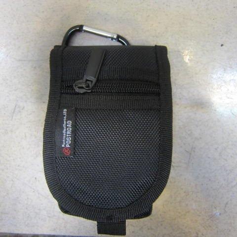 ~雪黛屋~POSTROAD 外掛腰包 防水尼龍布材質 可外掛可穿過皮帶固定功能隨身物品專用AI9010黑