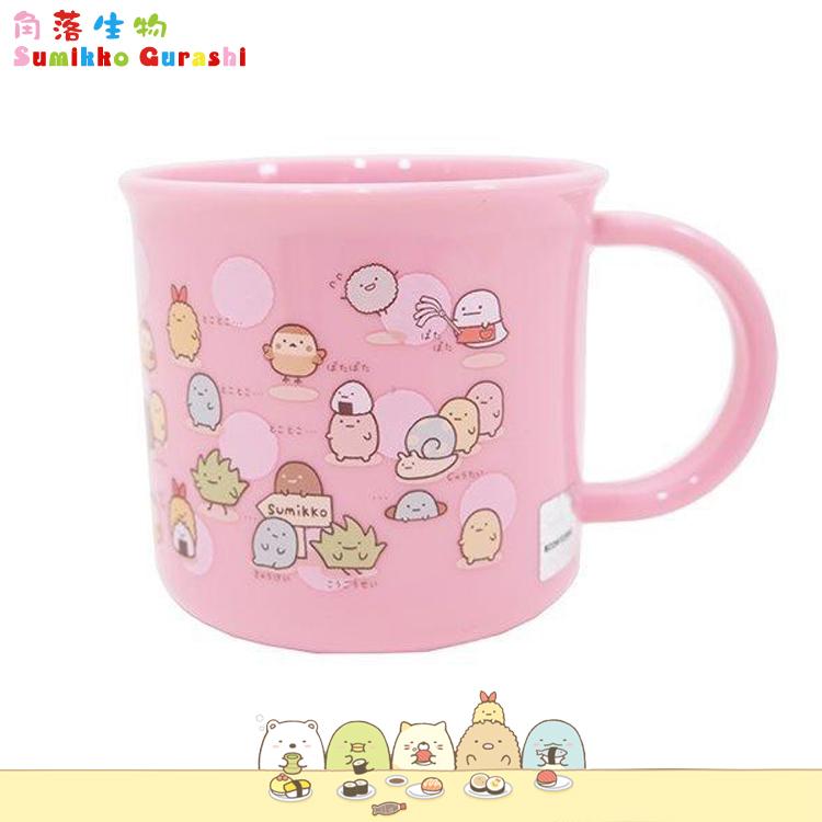 大田倉 日本進口正版 日本製 角落生物Sumikko Gurashi 塑膠水杯茶杯 漱口杯 杯子200ml 362309