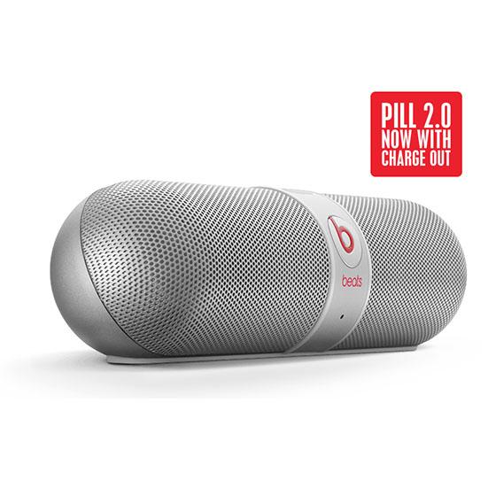 Beats by Dr Dre Pill 2.0 【銀】無線藍牙喇叭 膠囊喇叭 先創公司貨