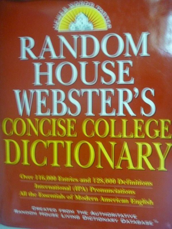 【書寶二手書T7/字典_ZDG】Random House Websters Concise