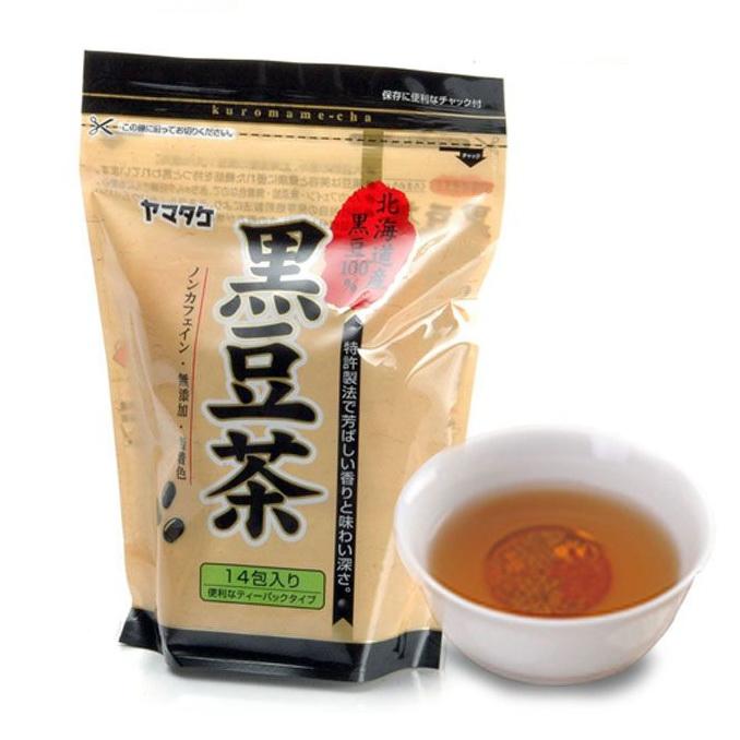 山武北海道產黑豆茶14入(154g) 原顆黑豆茶包 健康降低体脂肪和膽固醇