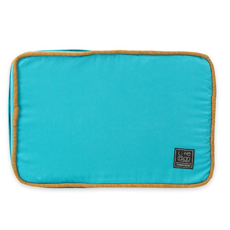 《Lifeapp》睡墊替換布套S_W65xD45xH5cm (藍藍) 不含睡墊