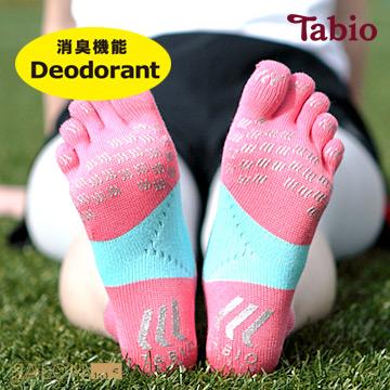 日本靴下屋Tabio 除臭速乾運動五指襪(23~25cm) / 馬拉松路跑必備/ RACING RUN