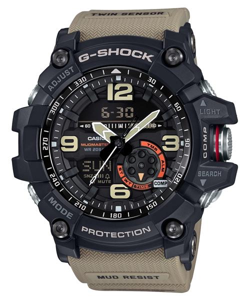 國外代購 CASIO G-SHOCK GG-1000-1A5 對抗險峻顛簸環境 雙顯 運動防水手錶腕錶電子錶男女錶 棕