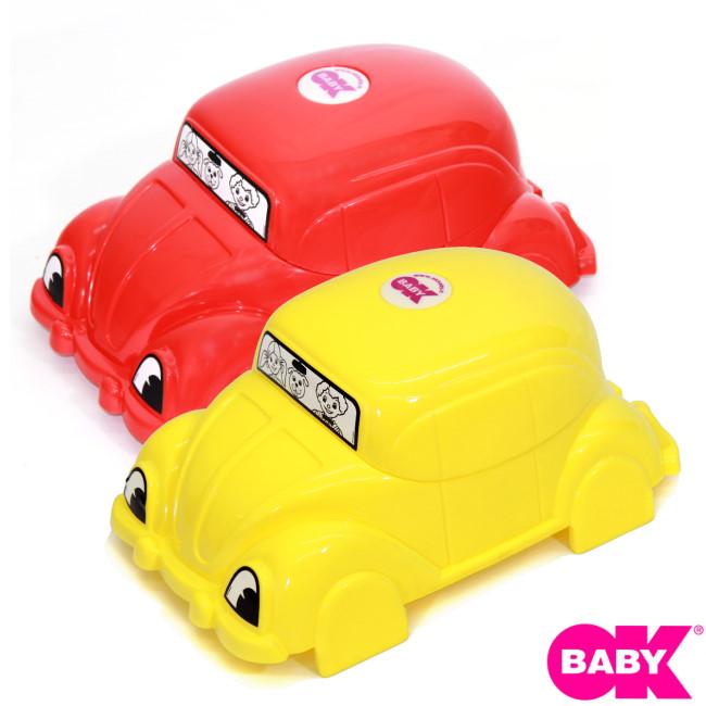 小崴Life親子館 OKbaby 寶寶便盆 (汽車造型) (F018) 義大利製