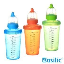 小崴Life親子館【貝喜力克 Basilic】防脹氣PP奶瓶330ml (D062) 台灣製