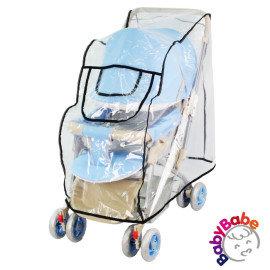 小崴Life親子館【BabyBabe】 安全反光防風防雨罩 (B007) 台灣製造