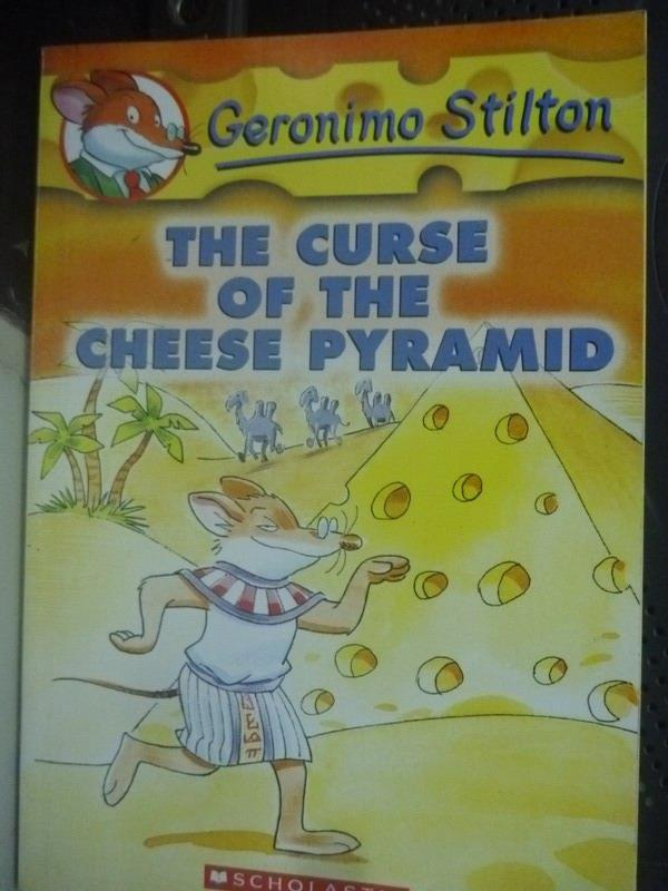 【書寶二手書T1/原文小說_LKE】The curse of the cheese pyramid_Stilton