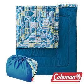 Coleman 2 IN 1家庭睡袋 C5 (舒適溫度:5℃) CM-27257M 信封型睡袋|化纖睡?