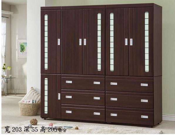 【港都家具】高峰7x7衣櫃(防潮耐壓)(此款衣櫥有搭配床組)