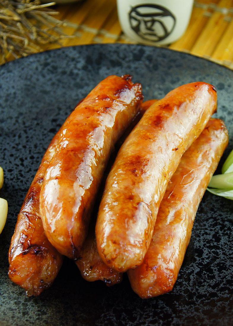 【金榮肉品】屏東東港 飛魚卵香腸 - 130元(300克±5%/包)