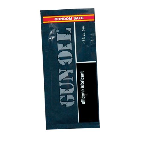 潤滑液情趣潤滑液-美國Empowered Products*Gun Oil 矽樹脂潤滑液隨身包 (5ml)-情趣用品