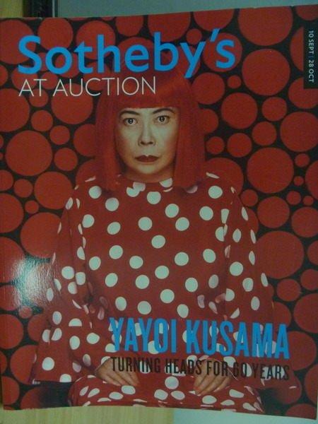【書寶二手書T2/收藏_XBD】Sothebys_2011/10/28_YAYOI KUSAMA草間彌生等