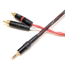 志達電子 CAB009 日本 Canare 立體3.5mm轉RCA轉接線