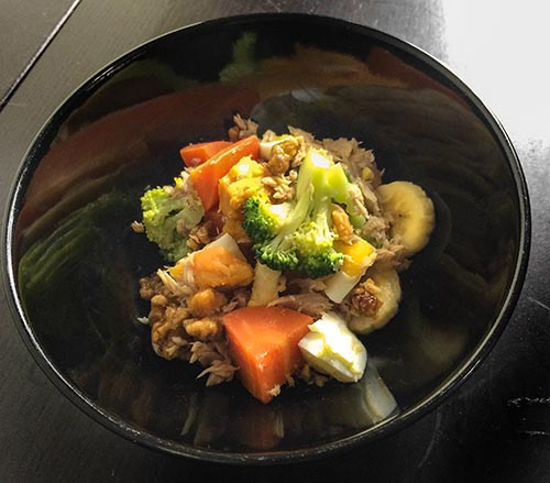 【魚】鮪魚蔬果沙拉 150g*2 (手作狗狗鮮食)