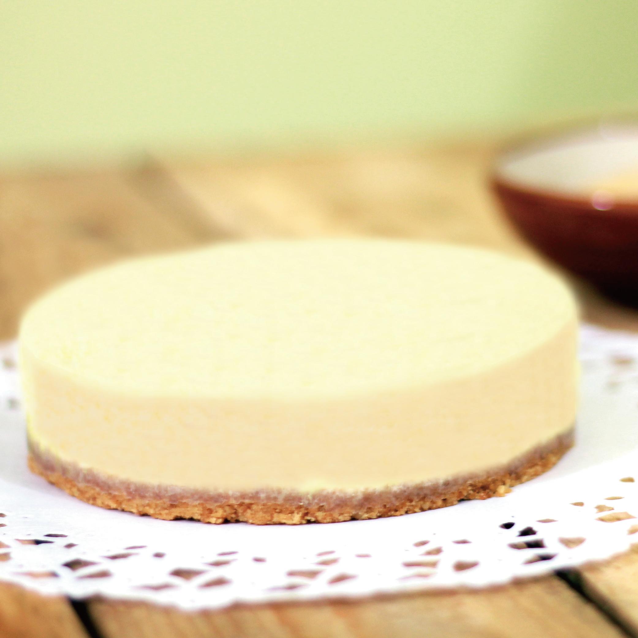 ★ 5吋 原味種乳酪 (重乳酪) ★ 濃郁的歐洲進口奶油起士與手工製作杏仁粉餅底,口感綿密細緻,濃郁香醇,多層次口感,驚豔你的味蕾~!