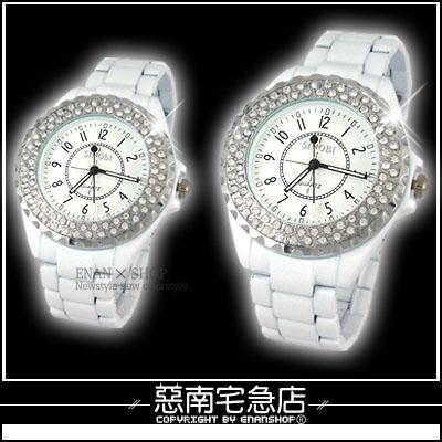 惡南宅急店【0023F】機械精工 甜蜜雙人『愛的雪天使錶』情侶對錶.單款區