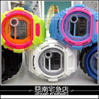 惡南宅急店【0233F】男錶女錶中性超輕『簡約電子手錶』情侶對錶可?單支價
