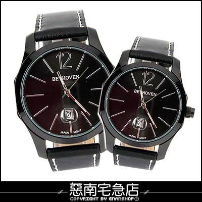 惡南宅急店【0346F】古典美學?男錶女錶『日期方角手錶』可當情侶對錶?單支價
