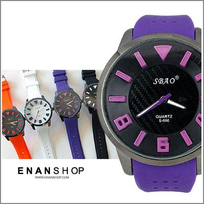 惡南宅急店【0435F】現貨熱銷?大錶面 男錶女錶『浮雕SBAO』手錶對錶情侶錶可 單價