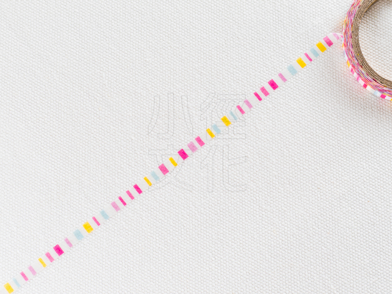 *小徑文化*日本進口和紙膠帶 Word carft系列 - 彩色條紋 ( W02-MK-T0070 )