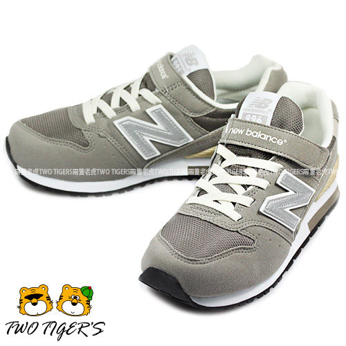 New Balance 996 灰色 魔鬼氈運動鞋 中大童(大人可穿) NO.R0204
