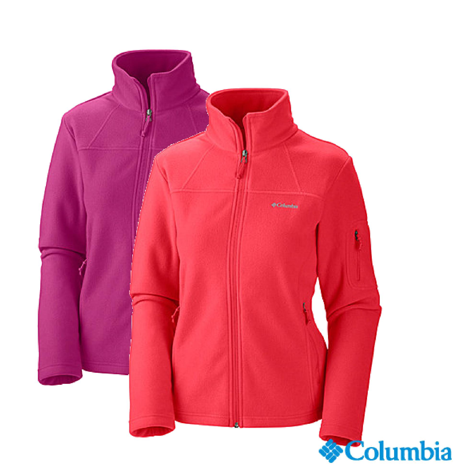《台南悠活運動家》Columbia 美國 女刷毛外套 多色 65420
