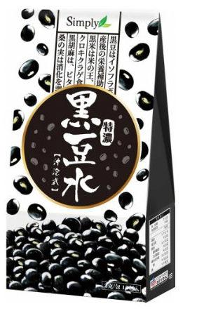 Simply 特濃黑豆水 15包/盒【淨妍美肌】