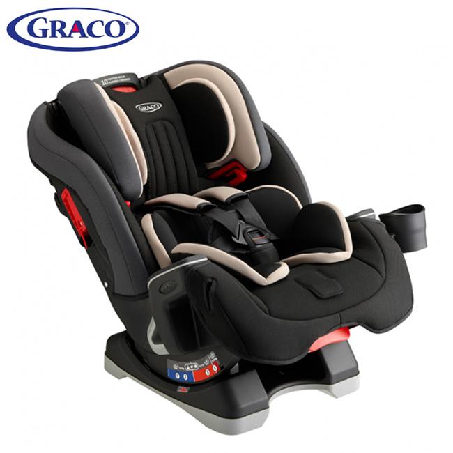 *babygo*Graco 0-12歲長效型嬰幼童汽車安全座椅 MILESTONE(灰/紅)