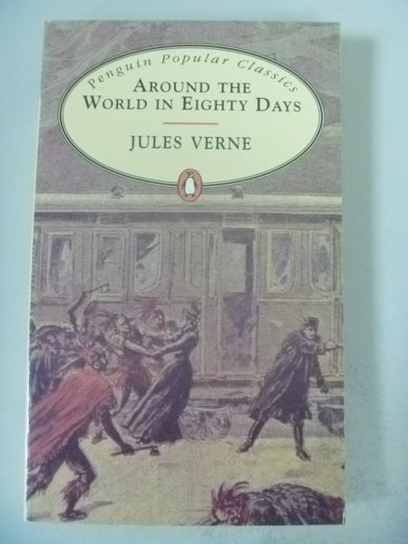 【書寶二手書T3/原文小說_IQF】Aroud the World in 80 Days_Jules Verne