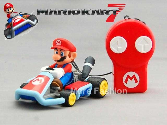 日本正版進口_N3DS 3DS 瑪利歐賽車7/瑪莉歐 Mario Kart 7_遙控汽車玩具(馬利歐款)