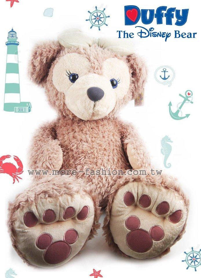 日潮夯店 日本 東京迪士尼樂園 帶回 Shelliemay 雪莉玫  L 96cm 超大型 絨毛 娃娃 玩偶 DUFFY 達菲熊