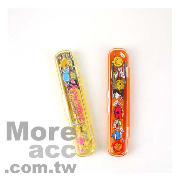 [日潮夯店] 日本正版進口 奇先生妙小姐 海綿寶寶 環保叉子組盒裝 共2款
