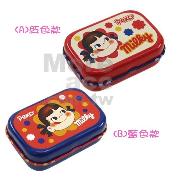 [日潮夯店] 日本正版進口 不二家牛奶妹Milky Peko醬鐵製 飾品盒 小物盒 收納盒