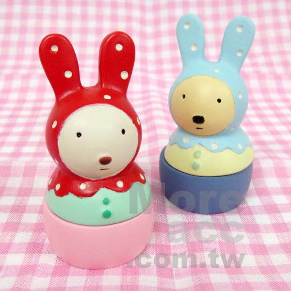 [日潮夯店] 日本正版進口 Le sucre 法國兔 砂糖兔 飾品 收納 擺飾 共兩款