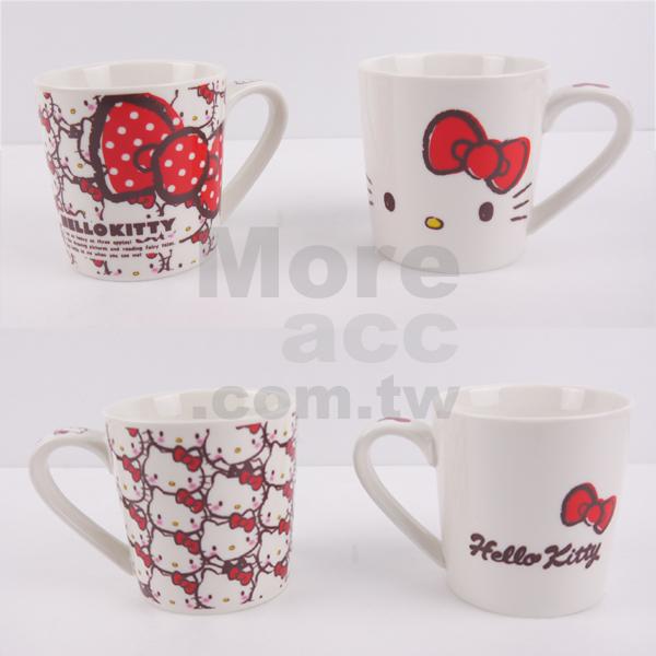 [日潮夯店] 日本正版進口 Sanrio三麗鷗 Hello Kitty 凱蒂貓 馬克杯 陶瓷 共兩款