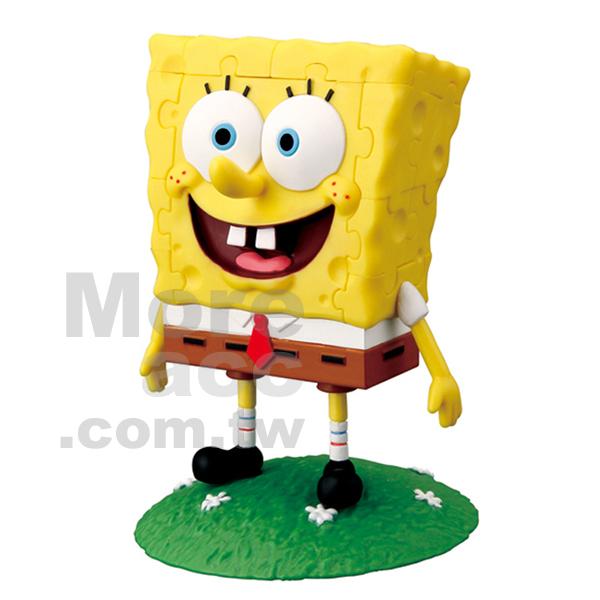 [日潮夯店] 日本正版进口 超可爱受欢迎卡通海绵宝宝spongebob 3d立体