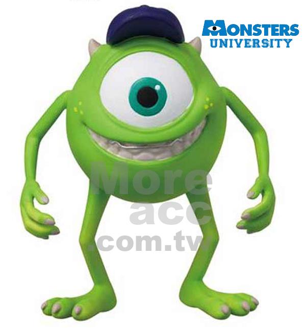 [日潮夯店] 日本正版進口 迪士尼 皮克斯 怪獸大學/怪獸電力公司 大眼仔可動 公仔 玩具