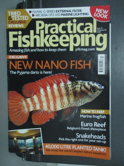 【書寶二手書T1/動植物_QDE】Practical fishkeeping_lssue13_nano fish等