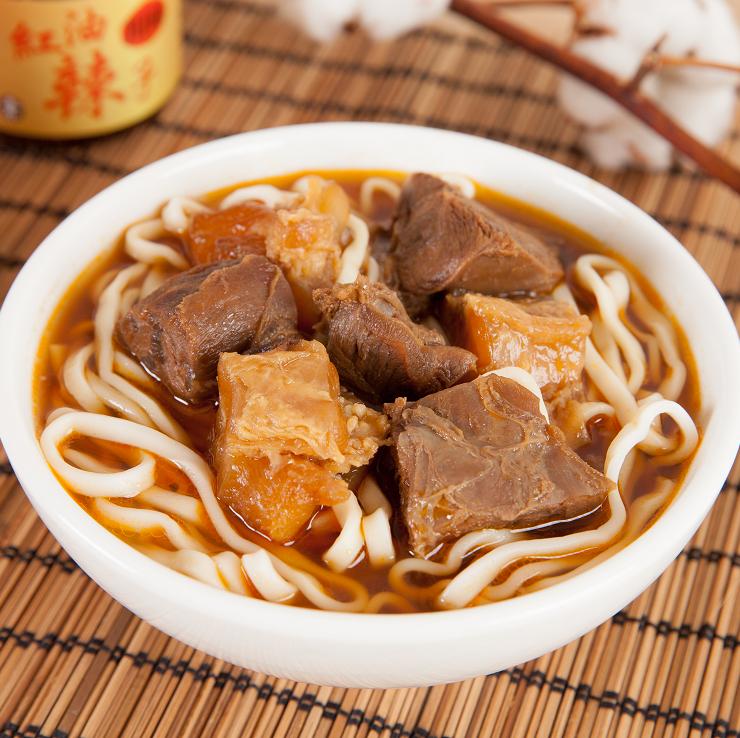 【十味觀】紅燒牛肉麵(4份入/盒)