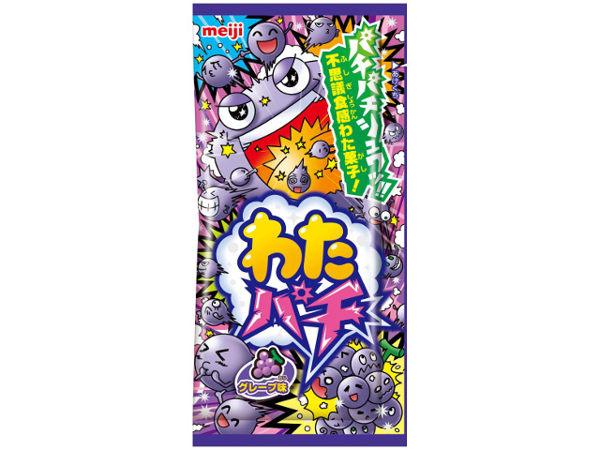【糖果王】日本零食 明治 棉花跳跳糖 (葡萄口味)