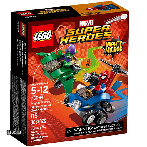 樂高積木 LEGO《 LT76064 》SUPER HEROES 超級英雄系列 - Mighty Micros: Spider-Man vs. Green Goblin