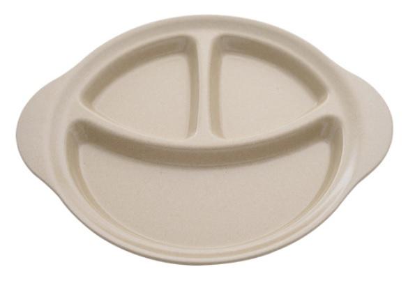 【淘氣寶寶】美國 Husk's ware 兒童三格餐盤【稻殼纖維材質,安全實用 】【保證公司貨●品質有保證】