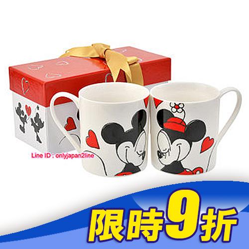 【真愛日本】16111500045專賣店聖誕對杯音樂盒-北歐米奇米妮    迪士尼 米老鼠米奇 米妮    聖誕限定
