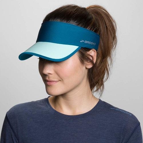 [陽光樂活]BROOKS (女) 中空慢跑帽 RUN-THRU RUNNING VISOR-BK280338318